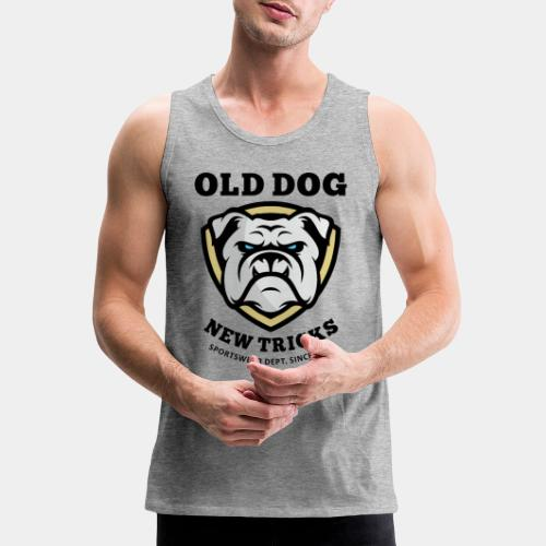 old dog new tricks - Men's Premium Tank