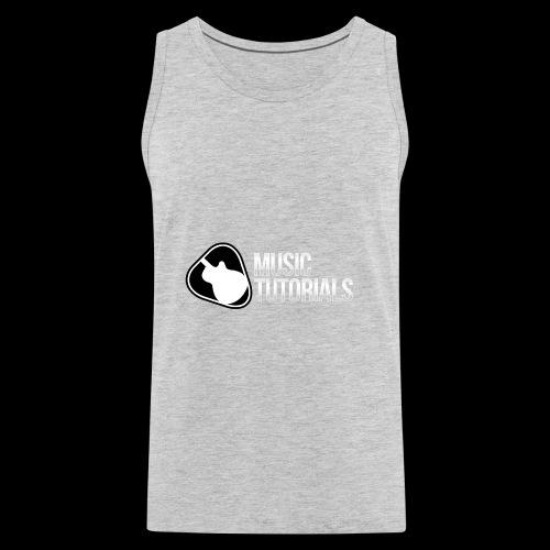 Music Tutorials Logo - Men's Premium Tank