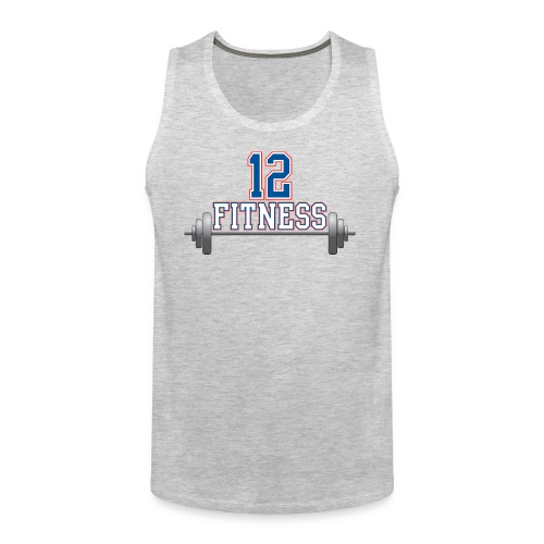 12fitness logo may13 - Men's Premium Tank