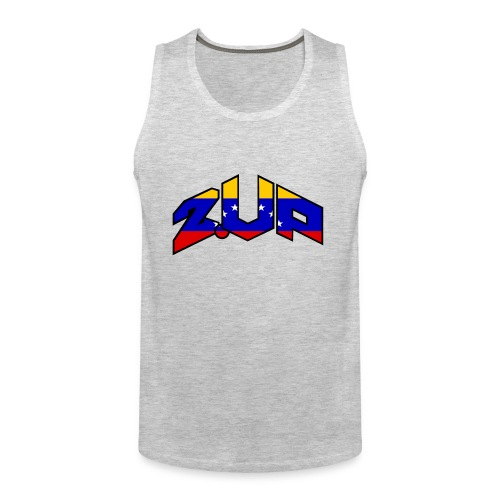 2up logo ven - Men's Premium Tank