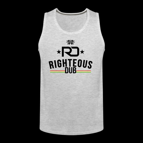 Righteous Dub Logo - Men's Premium Tank