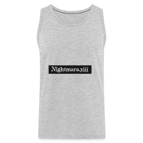 Nightmara logo written - Men's Premium Tank