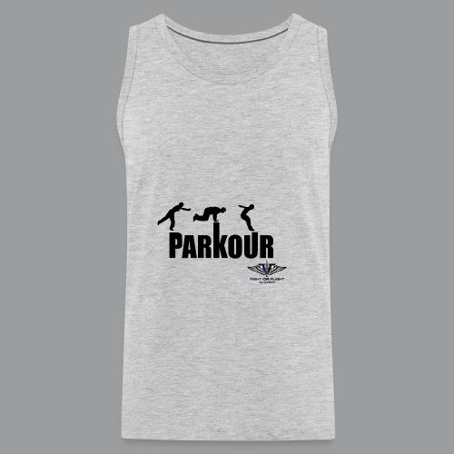 Parkour Text Kong Precision - Men's Premium Tank