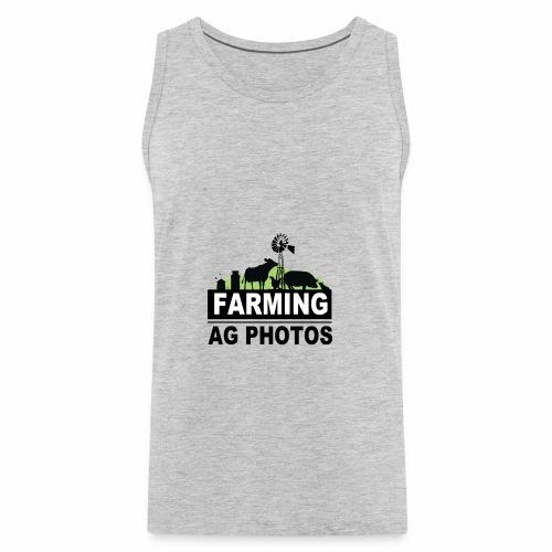 Farming Ag Photos - Men's Premium Tank