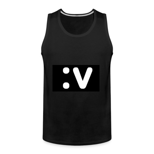 LBV side face Merch - Men's Premium Tank