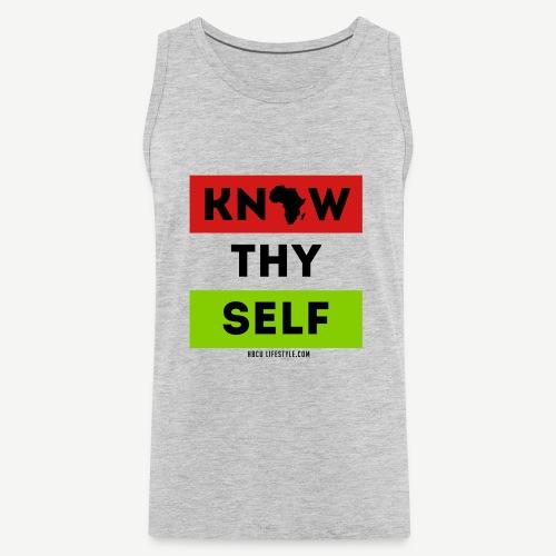 Know Thy Self - Men's Premium Tank