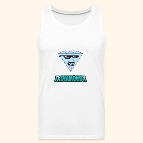 Txdiamondx Diamond Guy Logo - Men's Premium Tank