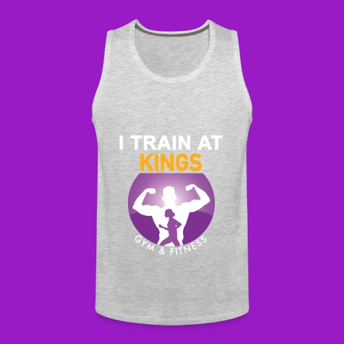 kings gym - Men's Premium Tank