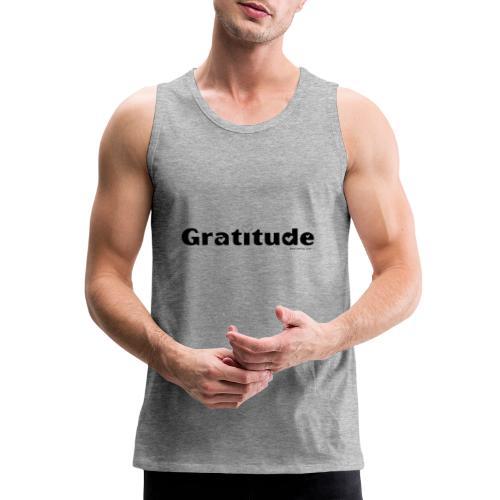 Gratitude - Men's Premium Tank