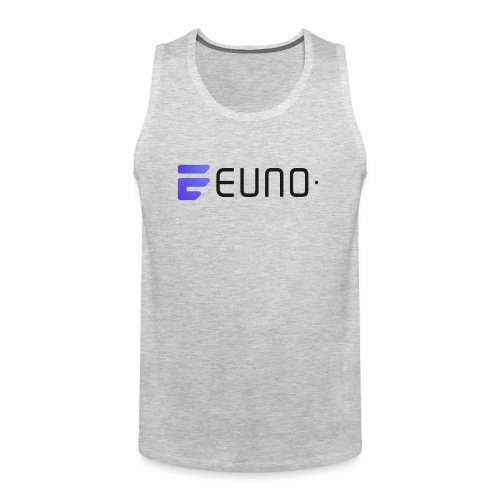 EUNO LOGO LANDSCAPE BLACK FONT - Men's Premium Tank