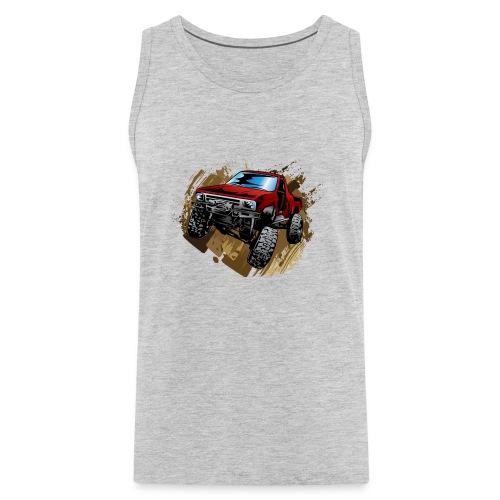 Muddy Red Truck - Men's Premium Tank