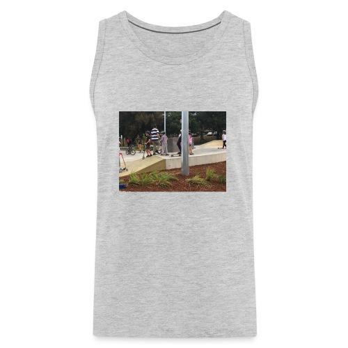 scate park no sleve t-shairt - Men's Premium Tank