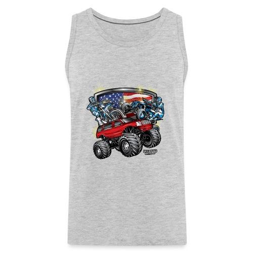 Off-Road 4th of July - Men's Premium Tank