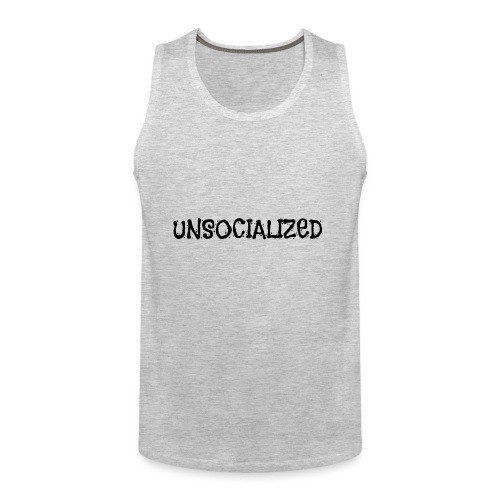 Unsocialized - Men's Premium Tank