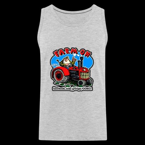 Mr Natural Farm On - Men's Premium Tank