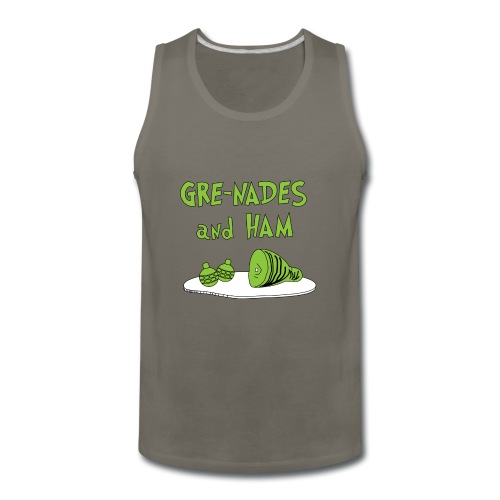 Gre-nades and Ham - Men's Premium Tank