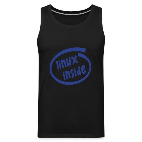 linux inside - Men's Premium Tank