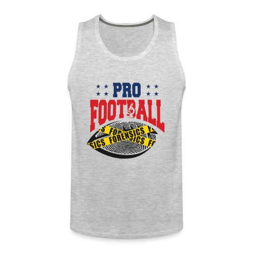 PRO FOOTBALL FORENSICS - Men's Premium Tank