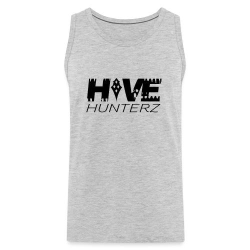 Hive Hunterz Black Logo - Men's Premium Tank