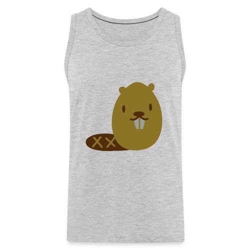 Cute Beaver - Men's Premium Tank