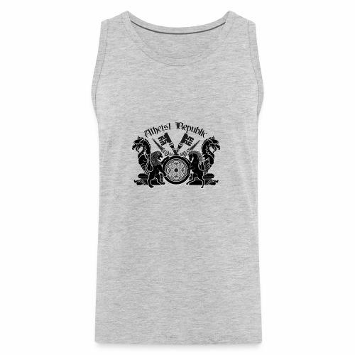 Atheist Republic Logo - Key Emblem - Men's Premium Tank