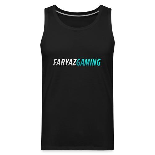 FaryazGaming Theme Text - Men's Premium Tank