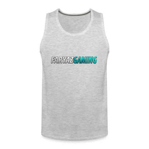 FaryazGaming Theme Text - Men's Premium Tank