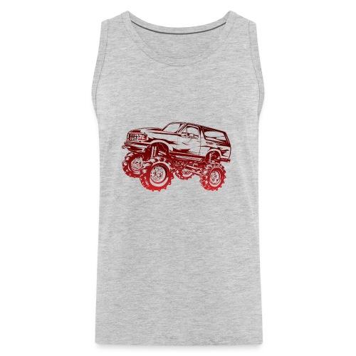 Mega Mud Ford Bronco Red - Men's Premium Tank