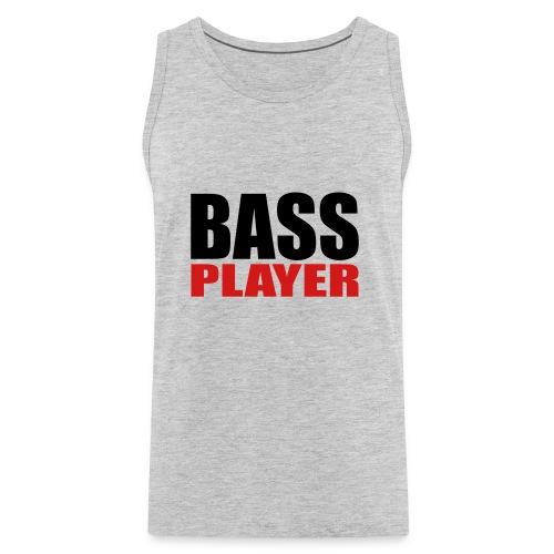 Bass Player - Men's Premium Tank