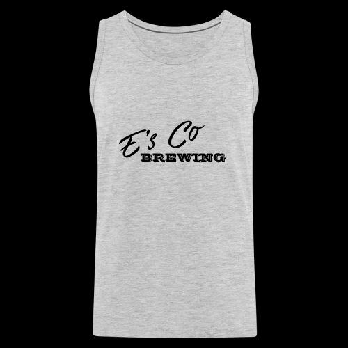 Es Co Brewing OG Logo Black - Men's Premium Tank