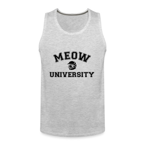 meow university - Men's Premium Tank