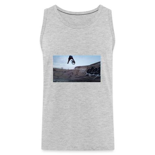 banner tshirt - Men's Premium Tank