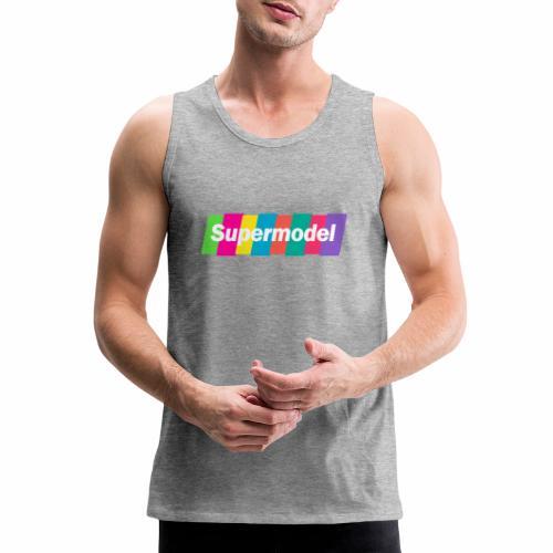 Supermodel Neon Colors - Men's Premium Tank