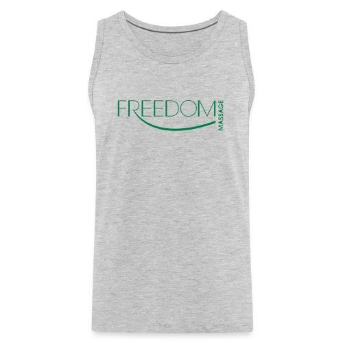 Freedom Logo Shirts Grey - Men's Premium Tank