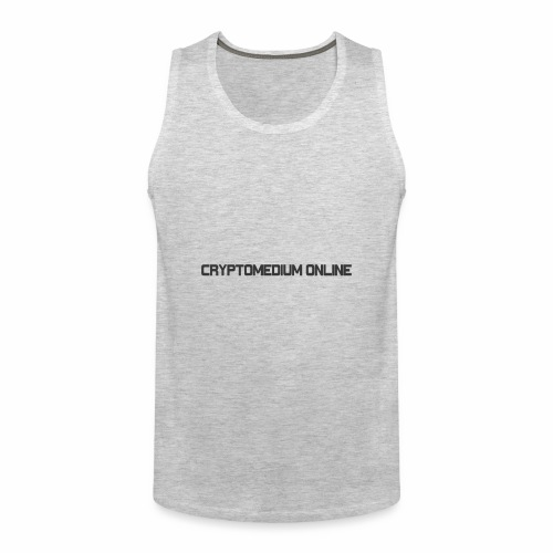 Cryptomedium logo dark - Men's Premium Tank