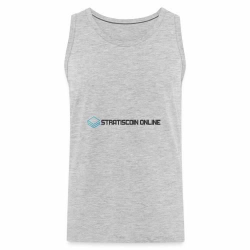 stratiscoin online dark - Men's Premium Tank