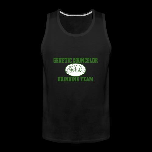 genetic counselor drinking team - Men's Premium Tank