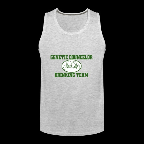 genetic counselor drinking team - Men's Premium Tank