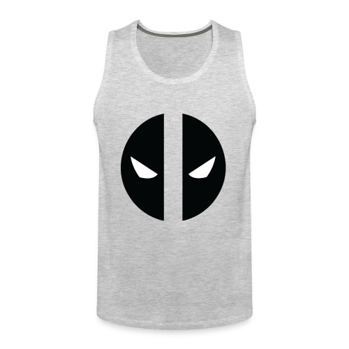 Deadpool Eyes.png - Men's Premium Tank