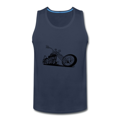 Custom American Chopper Motorcycle - Men's Premium Tank