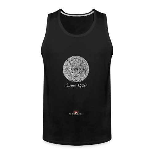 Since 1428 Aztec Design! - Men's Premium Tank