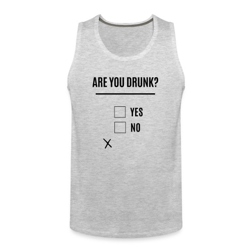 Beer, Are you Drunk? Oktoberfest, black - Men's Premium Tank
