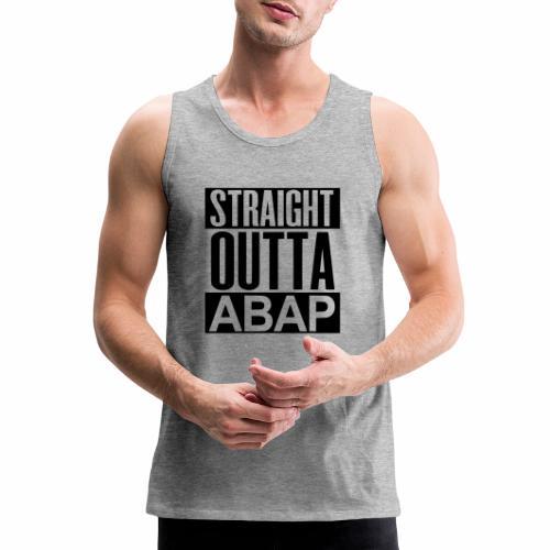 StraightOuttaABAP - Men's Premium Tank