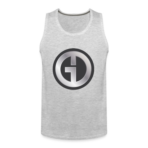 Gristwood Design Logo (No Text) For Dark Fabric - Men's Premium Tank
