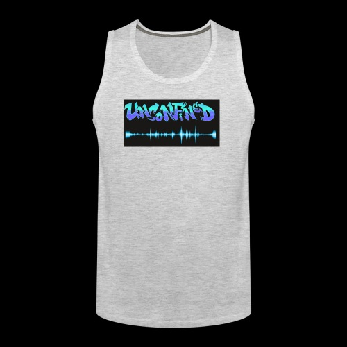 unconfined design1 - Men's Premium Tank