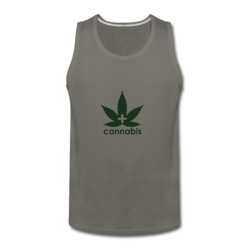 Medical Cannabis Supporter - Men's Premium Tank