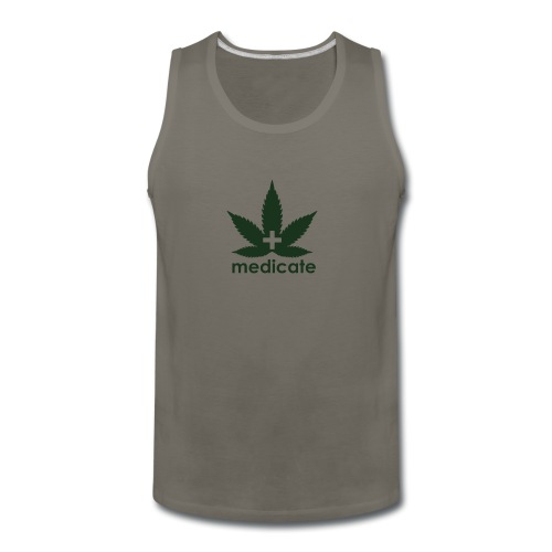 Medicate Supporter - Men's Premium Tank