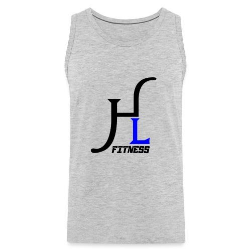 HIIT Life Fitness Blue - Men's Premium Tank