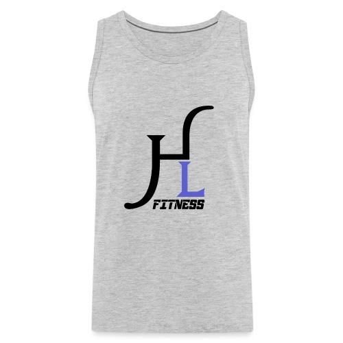 HIIT Life Fitness Logo Purple - Men's Premium Tank