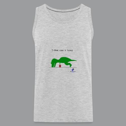 T-Rex Can't Kong - Men's Premium Tank